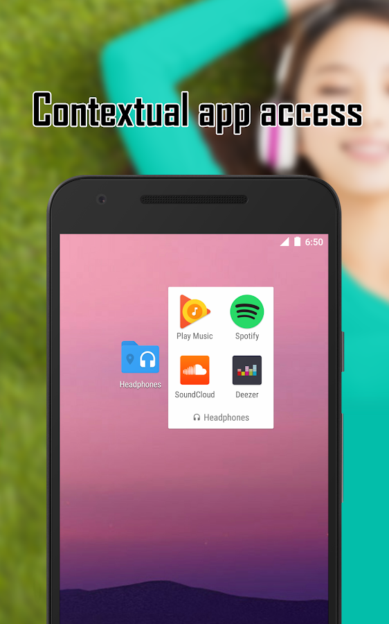 Contextual App Folder (C.A.F.) (Unreleased) for Android