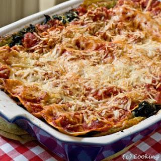 Spinach-Pesto Lasagna
