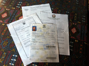 Photo: Lot's of permits needed to do research on Kilimanjaro