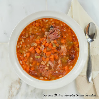 Crock Pot Chipotle Ham And Bean Soup