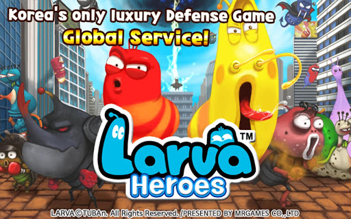Larva Heroes: Lavengers Screenshot