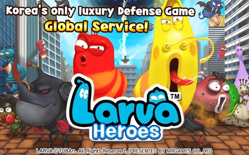 Larva Heroes: Lavengers 1