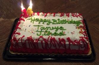 Photo: our bday cake