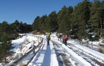 Photo: Iniciamos la ruta un poco antes del Pla de la Creu de Fumanya debido a la nieve