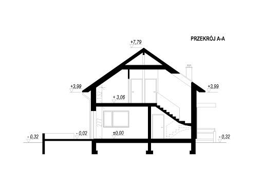 LIM House 05 - Przekrój