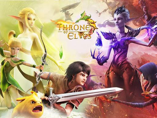 Throne of Elves: 3D Anime Action MMORPG 2.18.5 screenshots 17