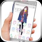 Nettes Mädchen Launcher icon