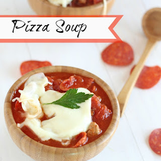 Loaded Pizza Soup
