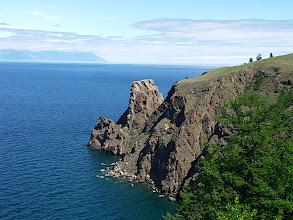 Photo: The end of the island. Khoboi Cliff