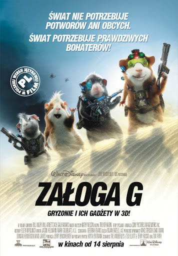 Polski plakat filmu 'Załoga G'