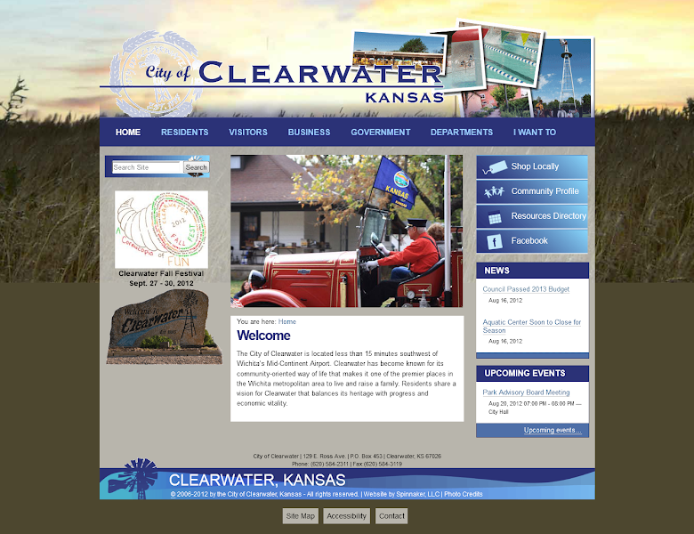 Photo: City of Clearwater, Kansas - www.clearwaterks.org