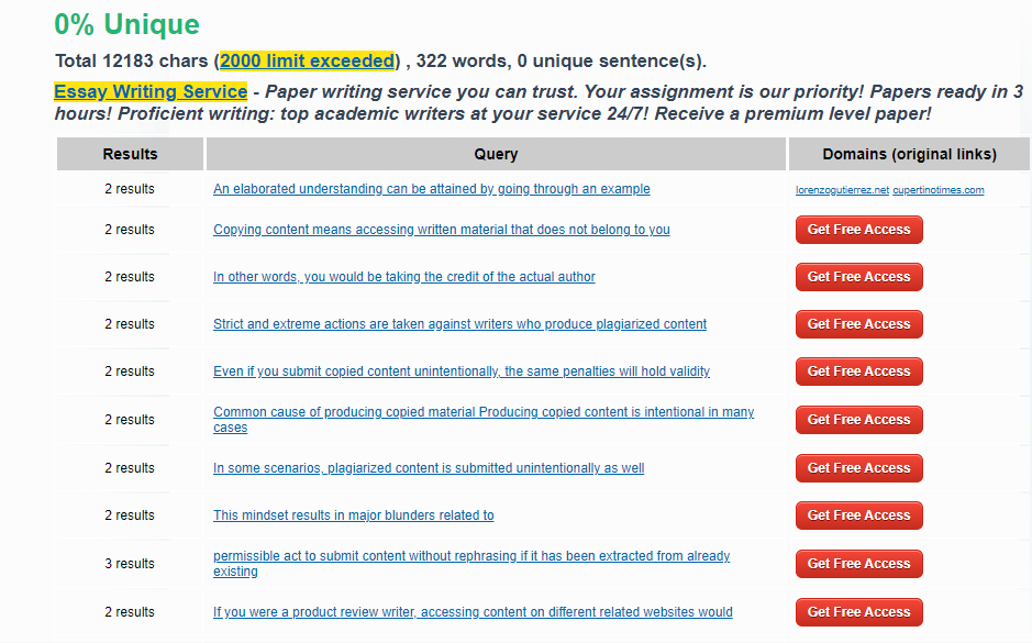 plagiarsima, Best Online Plagiarism Checker Tools for Bloggers