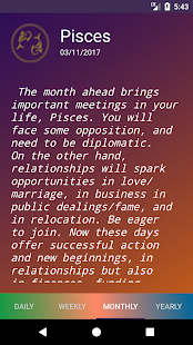 Horoscope - Daily Zodiac Details - náhled