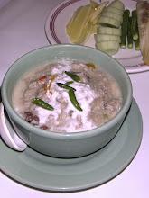 "Photo: salted crab coconut dip (""loen bpoo kem"") at My Choice, Bangkok"