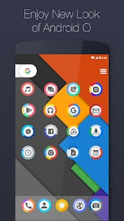 Launcher for Android O : 8.0 - náhled