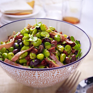 Ham and Fava Bean Salad