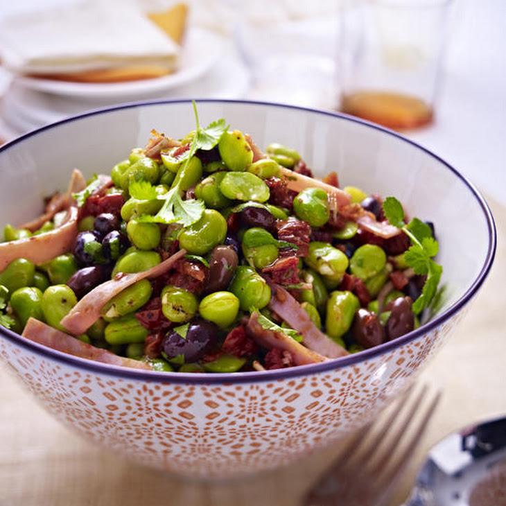 Ham and Fava Bean Salad