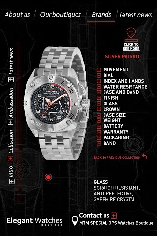 android Elegant Watches Boutique Screenshot 4