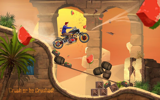 Rush To Crush - Xtreme Bike Stunt Racing PVP Games apkpoly screenshots 11