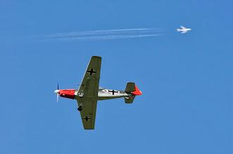 Photo: Zlin 526 Retro Sky Team & A380