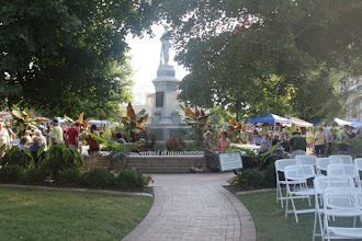 Photo: The Bentonville square is my happy place.