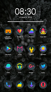 Mavon - Icon Pack app (apk) free download for Android/PC/Windows screenshot