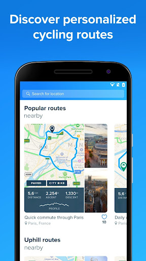 Bikemap - GPS Bike Route Tracker & Map for Cycling 10.9.0 gameplay | AndroidFC 2