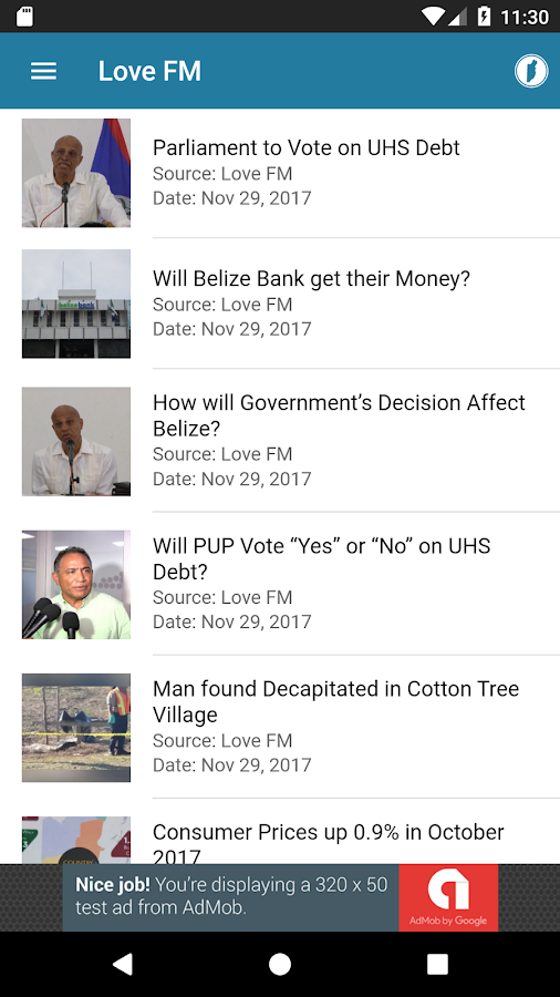 Belize Central- screenshot