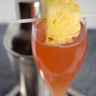 Amaretto Aloha Cocktail.