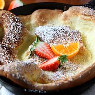 Dutch Baby Oven Pancake