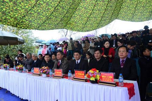 Hồ Pa Khoang, khai mạc sự kiện hoa anh đào 2