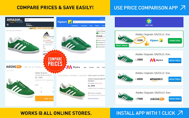 Xerve - Price Comparison & Cashback App