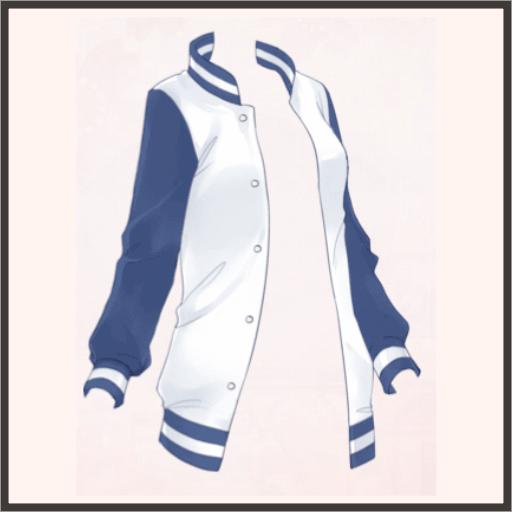 青のスタジアムジャケット