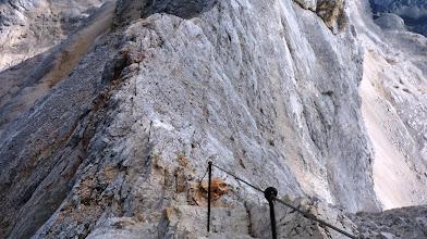 Photo: zanesljiva varovala tudi po grebenu