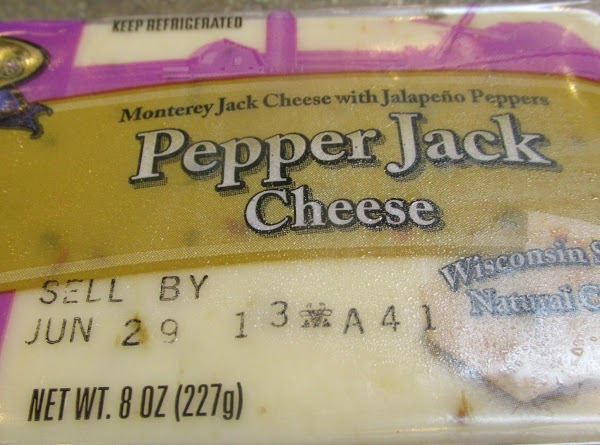 Cube the pepper jack cheese & add to bowl and stir. Now add the...