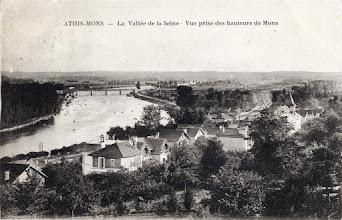 Photo: Athis-Mons - La Vallée de la Seine - Vue prise des hauteurs de Mons