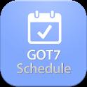 GOT7 Schedule icon