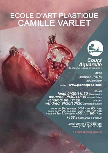 jeanne PAPA_cours aquarelles 2019-2020_ FONTAINEBLEAU / SEINE ET MARNE/ VENEUX LES SABLONS / MORET SUR LOING/ THOMERY