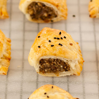 Stuffed Turkey Sausage Rolls Recipe