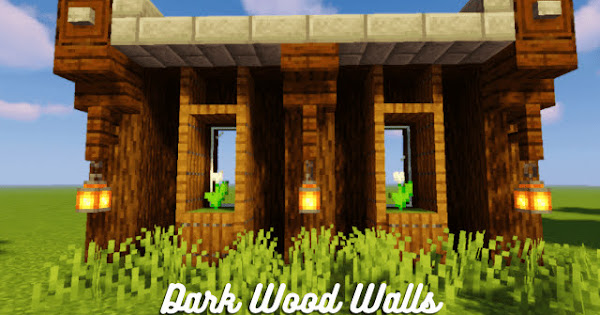 Dark Wood Walls