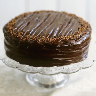 Mocha Cake with Chocolate Ganache