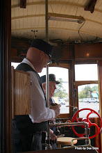 Photo: (Year 2) Day 346 - The Two Lovely Conductors on the Trolley