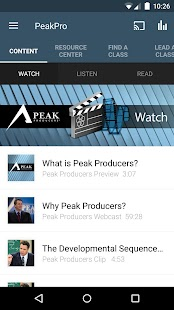 Buffini & Co Peak Producers- screenshot thumbnail