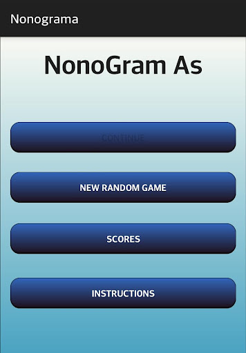 Nonogram As - Picross