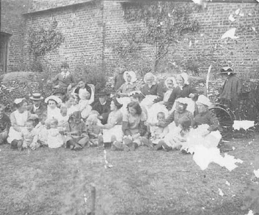 Inmates from Mitford and Launditch Union Workhouse
