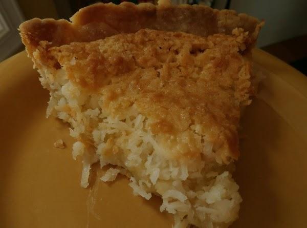 Macaroon Pie Recipe