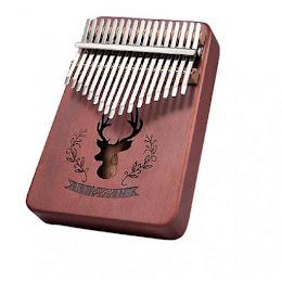 Mini pian Kalimba cu 17 clape
