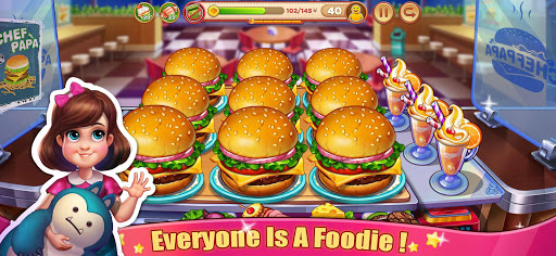 Crazy Cooking Tour: Chef's Restaurant Food Game apktram screenshots 1