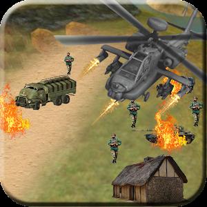 Army Gunship Combat Battle for PC