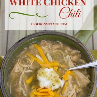 Crock Pot White Chicken Chili.
